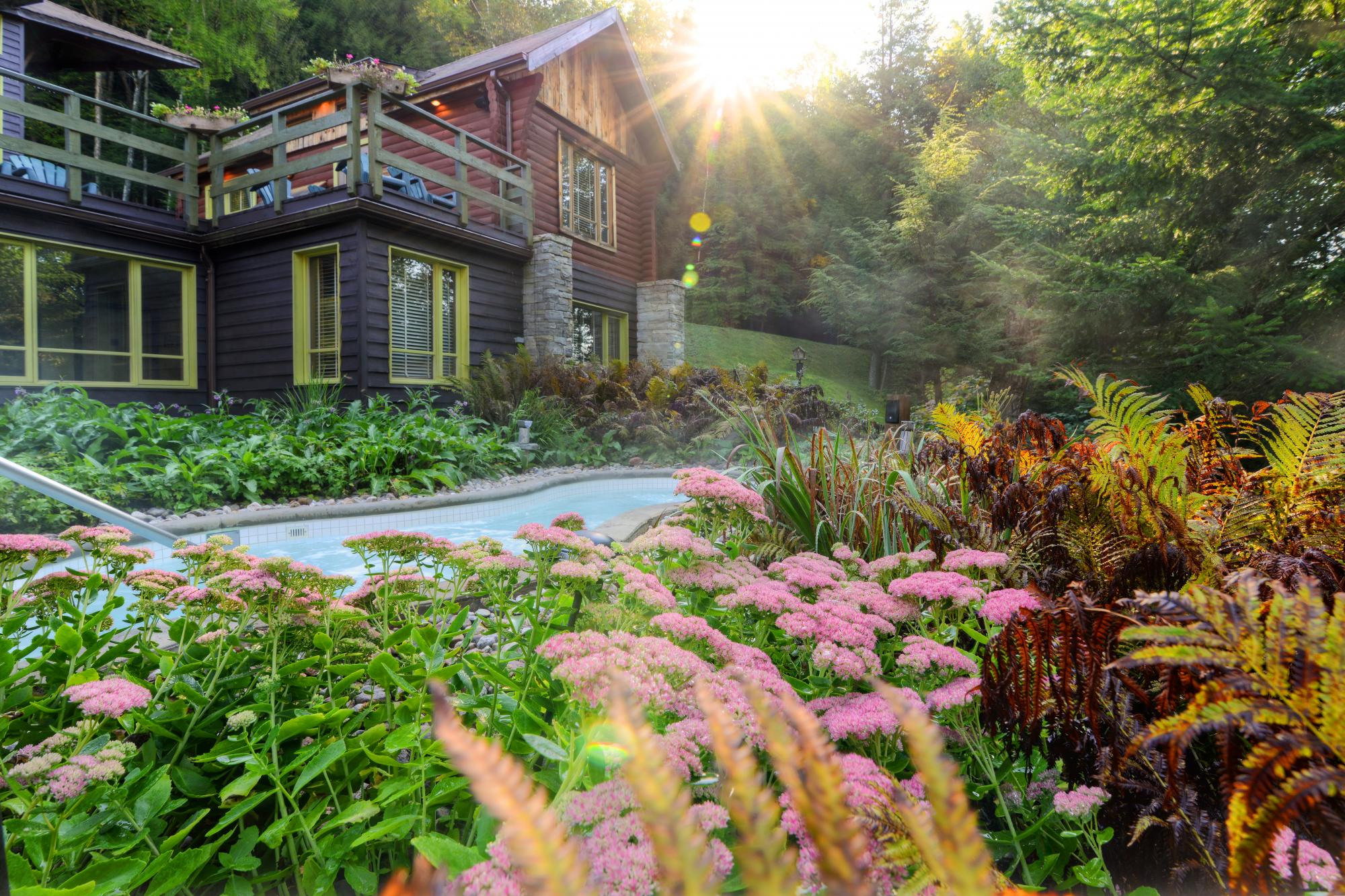 Relaxation In The Heart Of Nature Scandinave Spa Mont