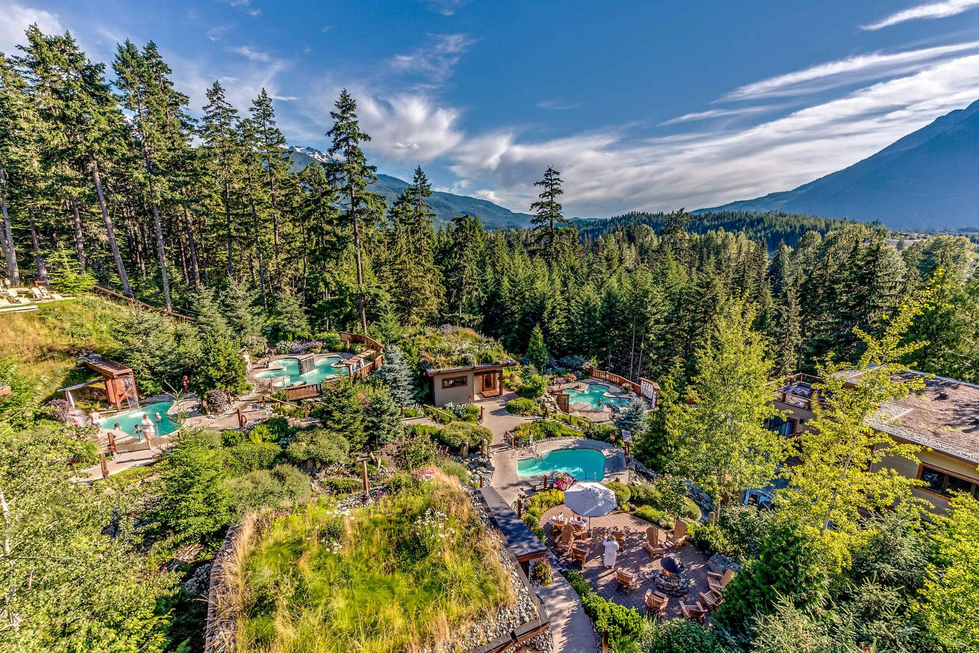 Scandinave Spa Whistler Summer