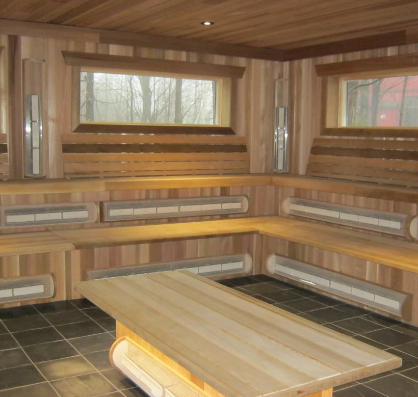 Saunas and Steam Room - Scandinave Spa Blue Mountain